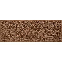 Bungalow Flooring Waterhog Indoor/Outdoor Runner Rug, 22' x 60', Skid Resistant, Easy to Clean, Catches Water and Debris, Boxwood Collection, Dark Brown