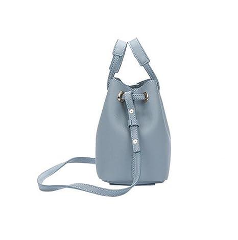d20c287c9678b7 Mode Einfache Damen Tasche Pumpen Gürtel Eimer Umhängetasche Diagonalen  Paket Tasche