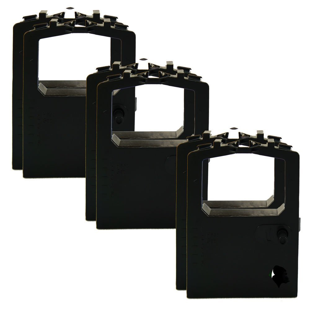 6 Pack Compatible Replacement Okidata OKI Black Ribbons MicroLine ML-180 ML-182 ML-184 ML-320 ML-390 ML-391 320 420 Turbo 52102001 52104001 CircuitOffice