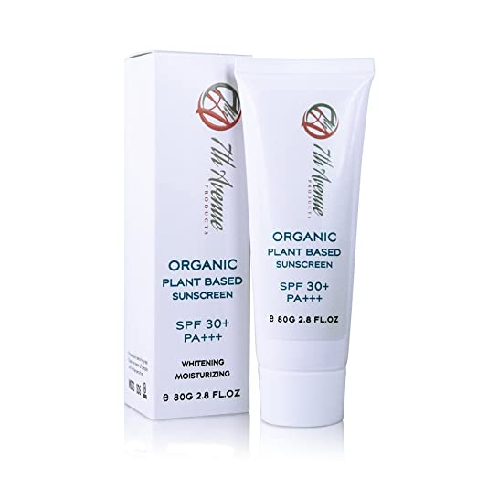 7th Avenue Products Natural Organic Mineral Zinc Oxide Sunscreen