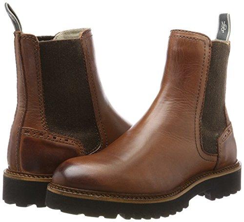 Braun Braun Brandy Chelsea Heel Heel Heel O'Polo 70814235001108 Flat Donna Stivali Marc Xq0H8xH