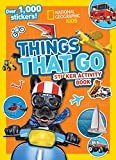 Things That Go Sticker Activity Book