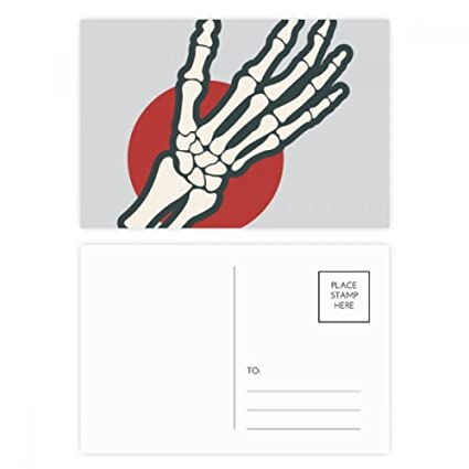DIYthinker Ilustración Mano humana Bone Joint tarjetas ...