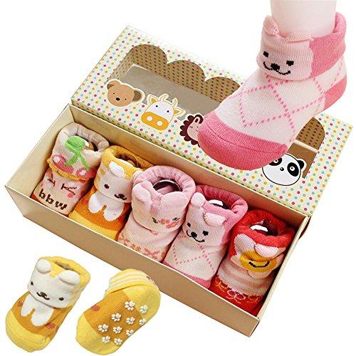 5pair Toddler Animal Cotton Non Skid product image