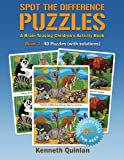 Spot the Difference Puzzles - Book 3: A Brain Teasing Children s Activity Book (Volume 3)