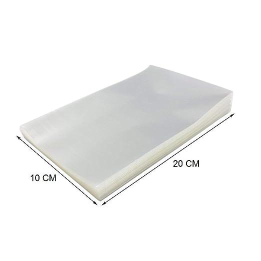 1000 bolsas transparentes de 10 x 20 cm para helados de palo ...