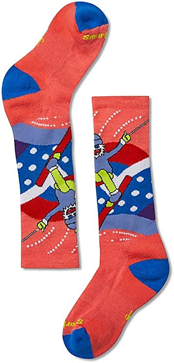 Kids/' SMARTWOOL Ski Racer Socks CAPRI Light Cushion Winter Size SMALL Socks NEW