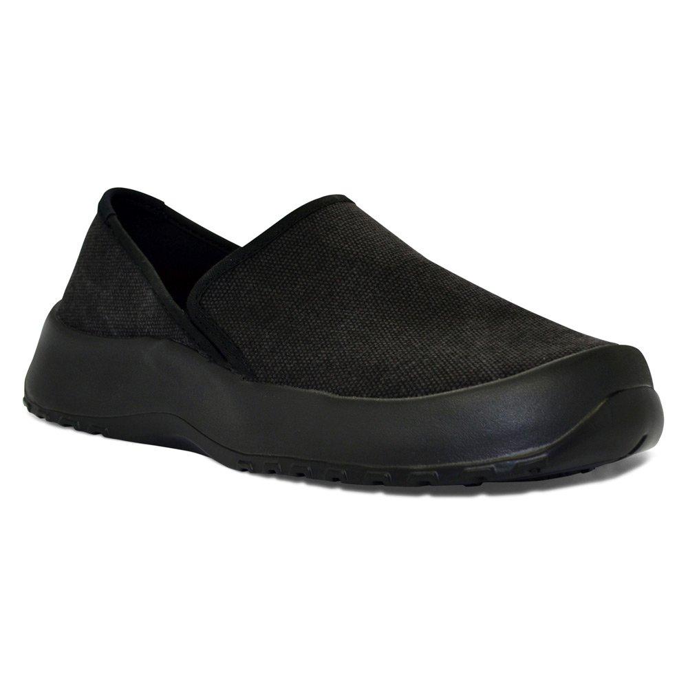 SoftScience The Drift Canvas Men's/Women's Slip On Shoes B00WIJNKCQ 12 Men's / 14 Women's|Black