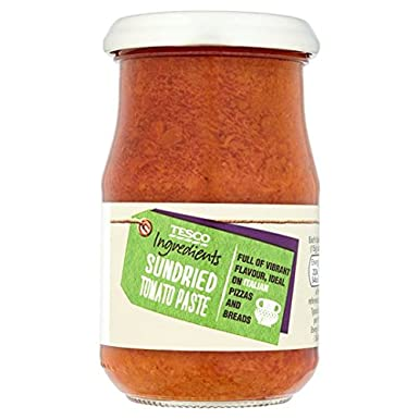 Tesco Ingredient Sundried Tomato Paste 190g Amazoncouk