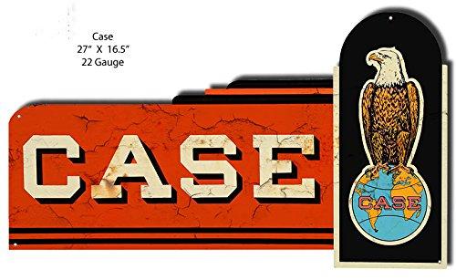 Station Laser - Garage Art Décor CASE Motor Oil Gas Station Laser Cut Out Metal