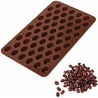 Sungpunet 55 Cavity Mini Coffee Beans Chocolate Sugar Candy Mold Mould Cake Decor