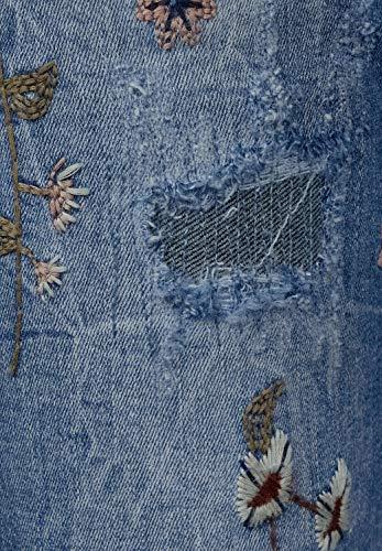 Cecil Straight Wash Mujer Used Blue Vaqueros Mid Blau para grwqOvgx5