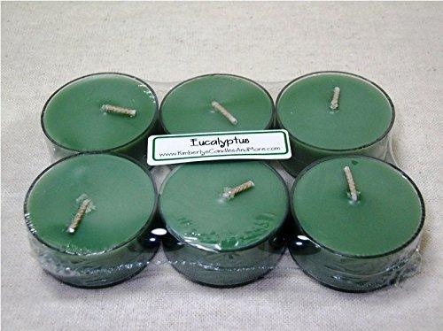 Pure Soy Tealights - Eucalyptus PURE SOY Tea Light Candles