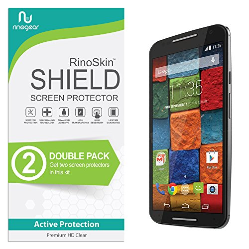 moto x 2014 screen protector wet - 1