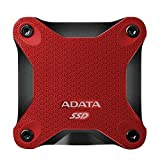 ADATA SD600 3D NAND 512GB USB3.1 Ultra-Speed External Solid State Drive Read up to 440 MB/s Red (ASD600-512GU31-CRD)