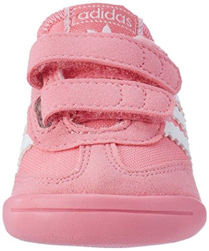 adidas Unisex-Kinder Dragon L2w Crib Sneaker Pink (Easy Pink/Ftwr White/Easy Pink)