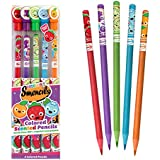 Colored Smencils 5-Pack of Scented Colored Pencils by Scentco