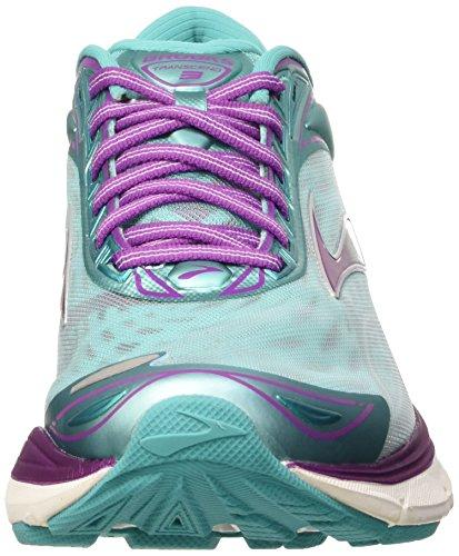 Aruba Compétition Byzantium Femme Blue Transcend 3 Brooks Multicolore Running de Silver Chaussures 7q8wfX