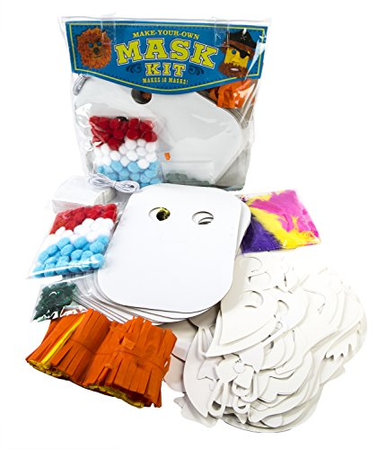 MindWare Make Your Own Mask Kit. Creative Arts and Crafts Fun for Ages 5 to -