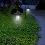 Solar Powered Lights, Set of 2 Coach Hanging