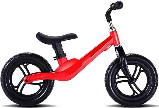 WHTBOX Bicicleta de Equilibrio Bebe 2AñOs,Bicicleta de Equilibrio Infantil,No Pedal,Walking,Balance Entrenamiento, Robusto,NiñO,NiñA,Bicicleta para NiñOs y NiñOs de 2 a 6 AñOs,Red: Amazon.es: Jardín