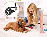 Zero Adjustable Dog Muzzle Soft Prevent Biting Chewing Anti Bitin Leather Comfortable Mask,XS