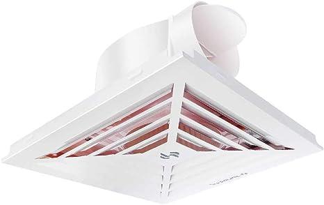 Ventilador de ventilación, Cocina, baño, Techo, Placa de Hebilla de Aluminio, Extractor, Extractor, Ventilador.: Amazon.es: Hogar