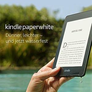 Kindle Paperwhite, wasserfest, 6?Zoll (15?cm) gro?es hochaufl?sendes Display, 8?GB - mit Spezialangeboten - Schwarz