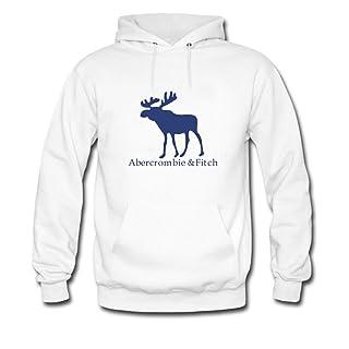 Sudadera con capucha para hombre con logo de Abercrombie & Fitch