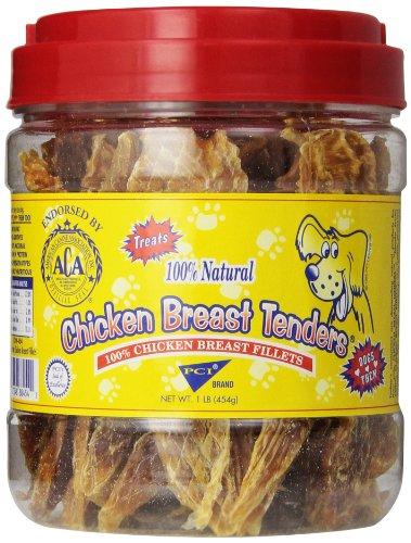 Pet Center Dpc88454 Chicken Breast Tenders Dog Treat, 1-Pound