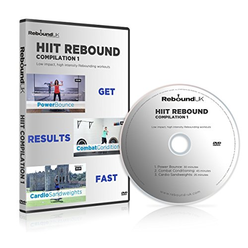 HIIT Rebound Compilation 1 DVD containing 3 high energy Mini Trampoline workouts. Our Rebounding DVD will Burn fat & get into great shape FAST! Claim 20% cash back on all our Rebounders. See below by MXL MaXimus Life