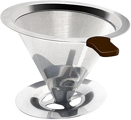 Mixpresso Clever Dripper - Pour Over Coffee Cone Dripper con ...