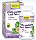 Natural Balance Leaf Extract, White Mulberry, 60 Count For Sale
