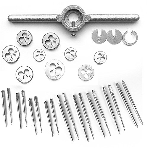 Amyove Mini HSS Tap and Die Set (Metric) for Model Making Watchmaker Small Engineering Work 31Pcs by Amyove (Image #2)