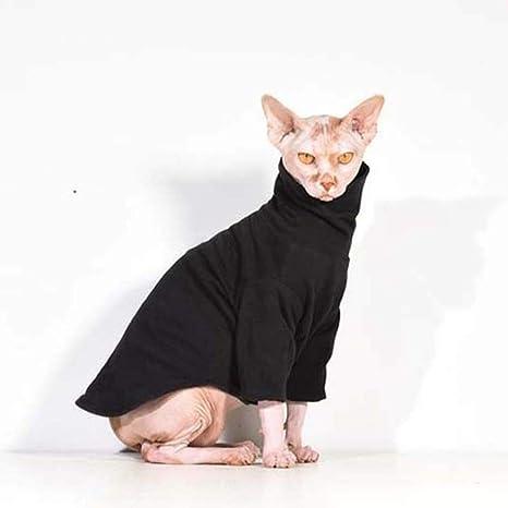 WJDM Ropa cálida para Gatos, Ropa de Invierno para Mascotas ...