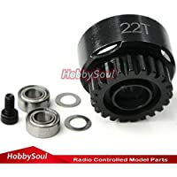 22T super vented racing Clutch Bell w/Bearings RC Parts