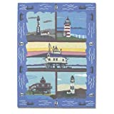 Lighthouse Gallery Rect Rug Medium 46 x 61 In.