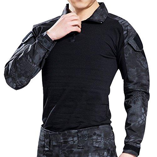 Canis Latran Tactical Pants Shirt with Knee Pads Army Airsoft Combat BDU Pants Shirt TYP