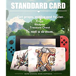 24 pcs NFC Cards for the Legend of Zelda Breath of the Wild Switch/Switch Lite/ Wii U with New Card for Link's Awakening