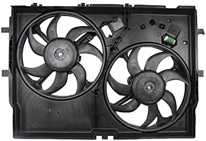 Dual Radiator /& Condenser Cooling Fan Assembly for Pro Master 1500 2500 3500 New