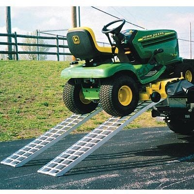 - Five Star Non-Folding Arched Aluminum Ramps - 6,500-Lb. Capacity, 7Ft.,