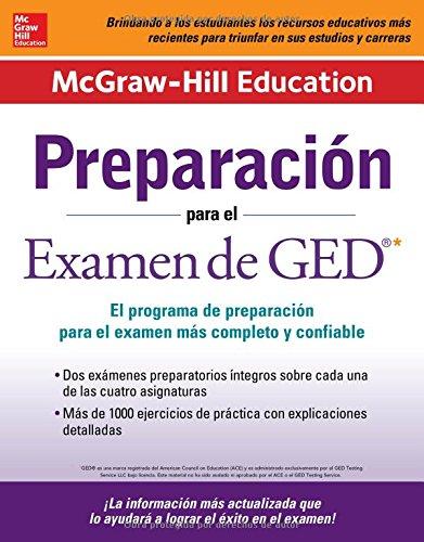 Preparación para el Examen de GED (Mcgraw-Hill Education Preparacion Para el Examen de GED) (Spanish Edition)