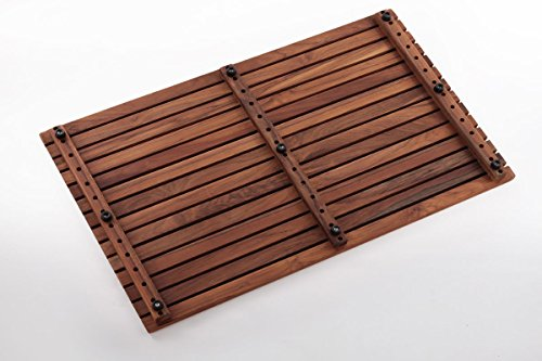 Nordic Style Teak Shower/Bath Mat Oiled 31.4″ x 19.6″ by Nordic Style (Image #1)