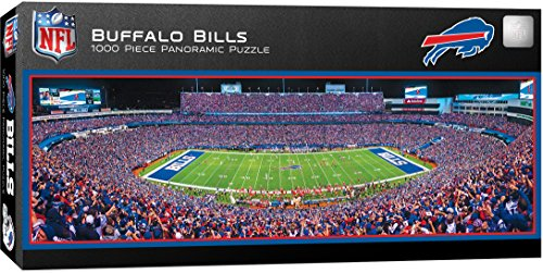 Buffalo Bills Nfl Jersey - MasterPieces NFL Buffalo Bills 1000 Piece Stadium Panoramic Jigsaw Puzzle