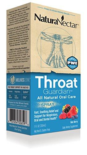 NaturaNectar Throat Guardian - Bee Berry, Delicious Propolis Spray - 30 ml - Spray