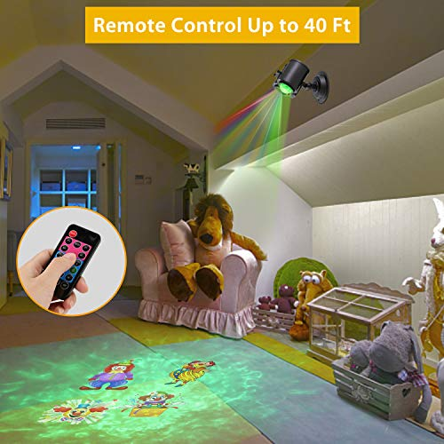 Nexgadget Christmas Projector Light2 In 1 Water Wave Light
