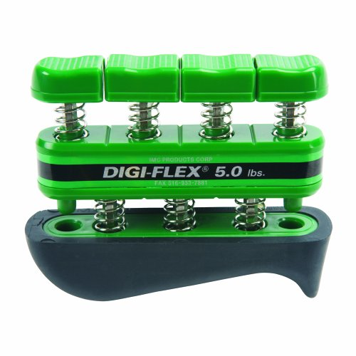 Digi-Flex Green Hand and Finger Exercise System, 5 lbs (Hand Finger Exercise System)