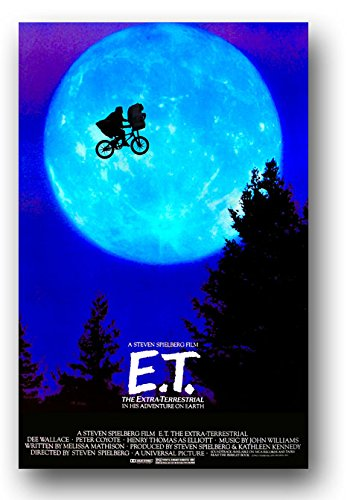 E.T. The Extra-Terrestrial Poster - Movie Promo - 11 x 17 In