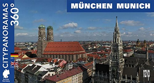 City Panoramas 360 Degrees: Munchen/Munich (German and English Edition) by Helga Neubauer