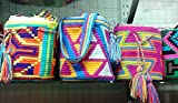 Colombian Wayuu Mochila Bag From Our Exclusive Handmade Custom Crafted Collection That Is 100% Authentic and Limited Edition